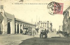 Morocco around 1920: 105 old postcards from Morocco (1910-1930)