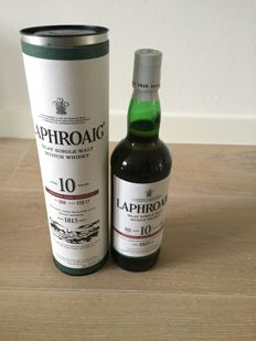 Laphroaig 2017 - Cask Strength 10 Year Batch 009
