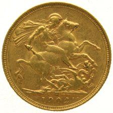 Australia - Sovereign 1902 (Melbourne) Edward VII - gold