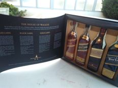 4 bottles - Set johnnie Walker collection