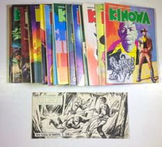 Kinowa - 16x issues 1/16 cpl + original cover of the series (strip format)