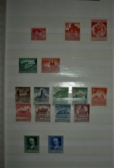 German Reich 1939/1945 - and official 1942/1944