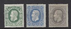 Belgium, 1867/1883 - King Leopold II - OBP 30/31 and 35