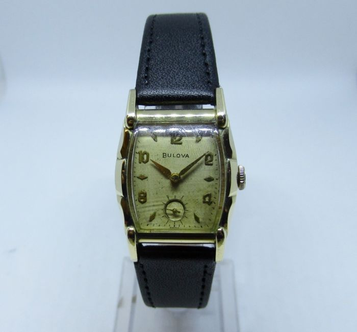 1951 bulova watch models