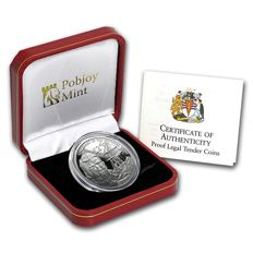 British Antarctic Territory - 2 Pounds 2015 ' 100th The Imperial Trans-Antarctic Expedition / Ship Endurance' - silver