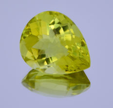 Lemon quartz - 35.67 ct