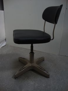 Desk chair, industrial vintage