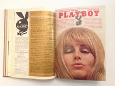 Playboy USA:  2 issues of Playboy bound in one volume - November/December 1969