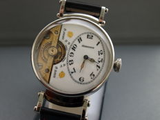 02. Hebdomas men's marriage wristwatch 1900-1905