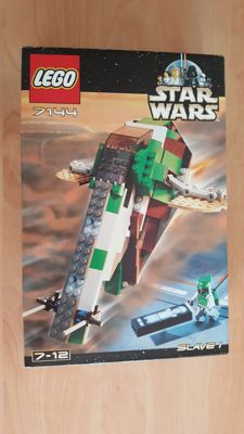Star Wars - 7144 + 7155 - Slave 1 + Trade Federation AAT