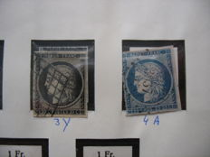 France 1849/1964 - collection