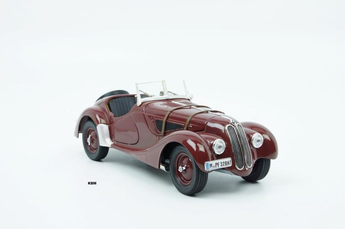 Ricko - Scale 1/18 - BMW 328 Roadster 1936 - Brown
