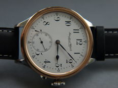 10. IWC Schaffhausen marriage men's wristwatch 1898-1899