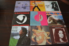 54 singles 1976/ 1988 with lot of hard to find records in NM quality