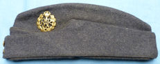 Original WW2 British Royal Air Force (RAF) NCO's Side Cap Hat #1