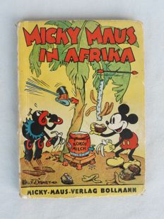 Disney, Walt - Micky Maus in Afrika - hc - first edition (1936)