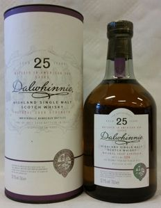 Dalwhinnnie 25 years old - Vintage 1987 - Special Release of 2012 - Bottle No. 3224 of 5358