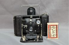 Icarette 6X6 folding camera, small format camera by Ica Dresden from circa 1915