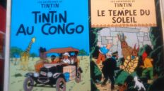 Lot with 24 postcards about TINTIN, including 6 with the title and the cover page and 18 with strips from comics