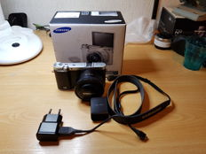 Samsung NX 3000 20 megapixels photo, video, vlog camera