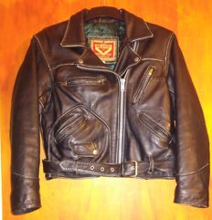 Brando England - Leather jacket for women - L size