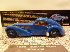 Minichamps - Scale 1/43 - Bugatti Type 57SC Atlantic - 1938