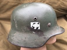 WW2 M35 German Helmet