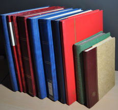 World - batch in various stock books