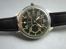 20. Molnija Pilot military style wristwatch - 1950-55