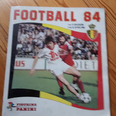Panini - Football 84 - Complete album