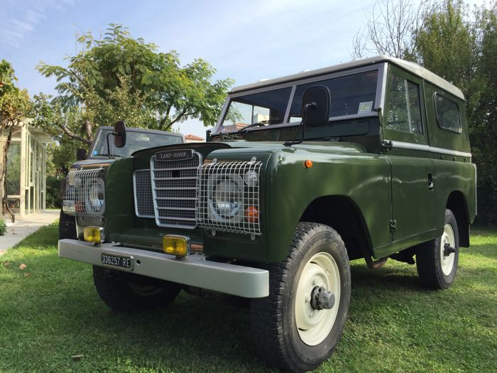 Land Rover - 88 II series - 1971