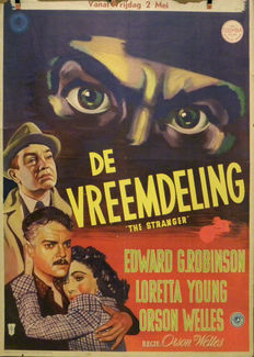 5 Filmposters Lutusca Rotterdam - 1946