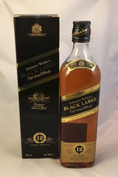 Johnnie Walker Black Label  - Ryder Cup '97  -  12 years old