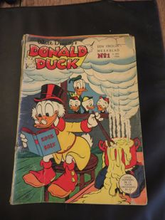 Donald Duck Weekblad - Complete year - 52xsc - 1st edition (1958)