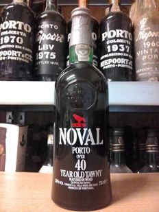 Over 40 years old Tawny Port Noval - bottled in 1989