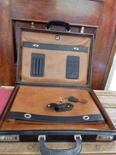 Dunhill - Attaché briefcase with combination locks - Vintage