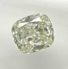 0.73 ct Cushion cut diamond I VVS2  -No Reserve