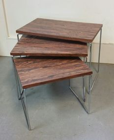 Brabantia - vintage rosewood nesting tables