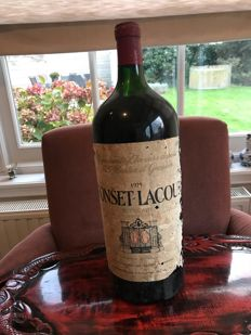 1975 Fonset Lacour Bordeaux x 1  Imperial 6,0L in OWC