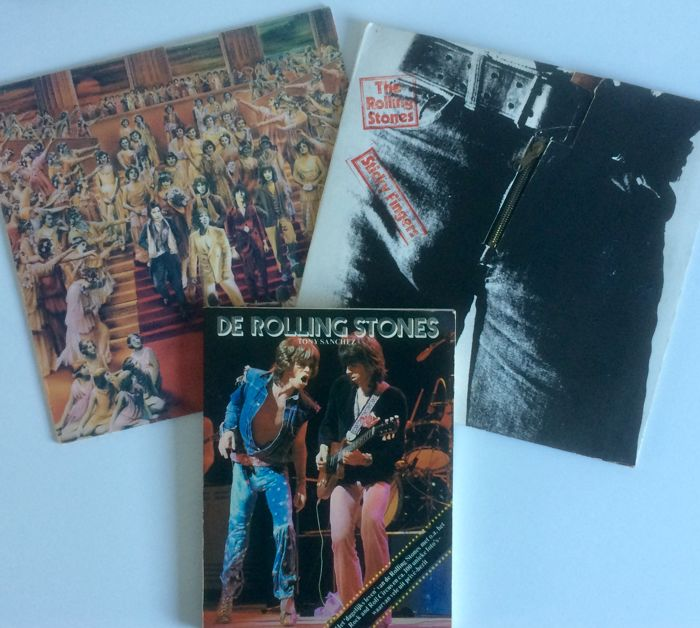 The Rolling Stones – Two rare records - Sticky Fingers, It's