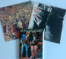 The Rolling Stones ‎– Two rare records - Sticky Fingers, It's Only Rock and Roll and more