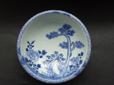 Washbasin with turned over edge - China - 18th century