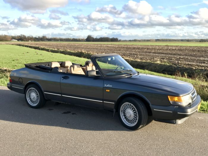 saab classic 900 turbo 16 cabrio 1988 catawiki. Black Bedroom Furniture Sets. Home Design Ideas