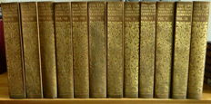 Edition de Luxe; Life and Works of Alfred Lord Tennyson - 12 volumes - 1898/1899