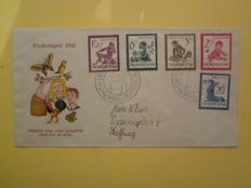 Netherlands 1950/1963 - Collection of 44 different FDCs