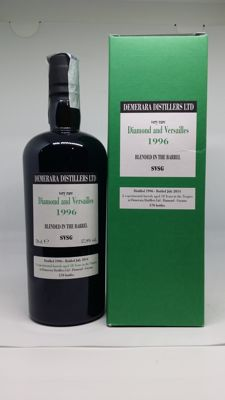 Very old rum Diamond & Versailles 1996 - velier