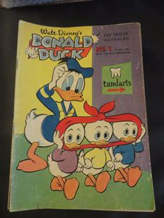 Donald Duck Weekblad - Complete year - 52xsc - 1st edition (1961)