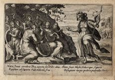 Crispijn van de Passe ( 1589-1637), Minerva and the muses, 1602-1607
