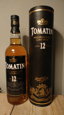 Tomatin 12 year - old bottling