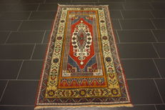 -Antique collector's carpet- -Anatolia, Kazakh Bergama- -made in Turkey- -105 x 200 cm- -wool on wool